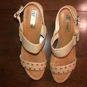 INC Summer Wedge Sandals